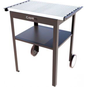 Camps DAP1-CBB - Desserte en aluminium plateau rétractable avec étagère