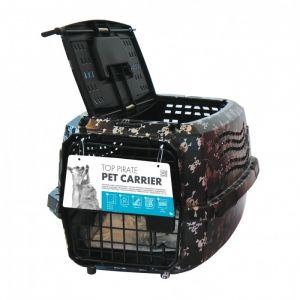 M pets Cage de transport - Pour chien - 46x31x23cm - Noir