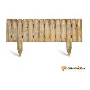 Jardipolys 0214571 - Bordure Quebec XL à planter en pin 100 x 50 cm