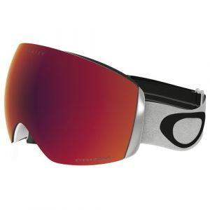 Oakley Flight Deck Masque de Ski Mixte Adulte, Matte White/Prizm Torch Iridium, 99