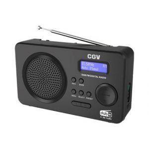 Cgv Radio DR5+ NOIR