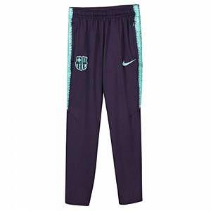 Nike Pantalon de football FC Barcelona Dri-FIT Squad Enfant plus âgé - Pourpre - Taille M
