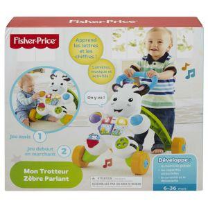 Fisher-Price Mon Zèbre Parlant Trotteur