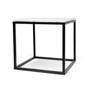 Table d'ap Prairie 50 Marble marbre blanc/noir TEMAHOME 9500 625015 Produit Neuf ! Garantie 0 ans !