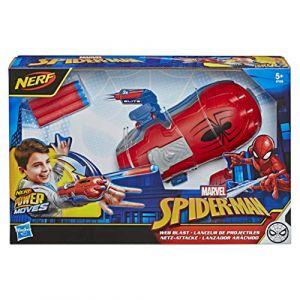 Spider Man Lanceur de projectiles Nerf Power Moves Accessoire de déguisement