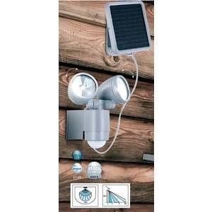Globo Lighting lampe solaire Globo SOLAR LED Argenté, 2 lumières - Moderne - Extérieur - SOLAR
