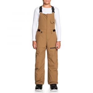 Quiksilver Pantalons Utility Youth Bib - Otter - Taille 12 Années