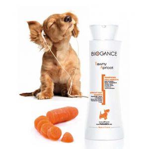Biogance Shampooing pour chien au poils abricots 250 ml