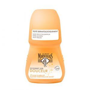 Le Petit Marseillais Déodorant soin Douceur huile d'abricot & sauge