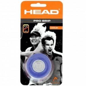 Head Overgrip Pro Grip ceinture de fixation Bleu Taille Unique Lot de 3