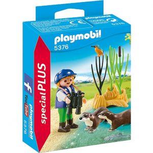 Playmobil 5376 - Special Plus : Enfant avec loutres
