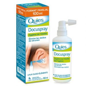 Quies Docuspray - Hygiène de l'oreille