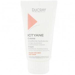 Ducray Ictyane - Crème émolliente hydratante pour peaux sèches