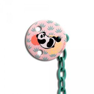 Suavinex Attache sucette ronde Panda