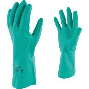 Outibat Gants de protection acrylonitrile spécial manutention produit chimique - Taille 7