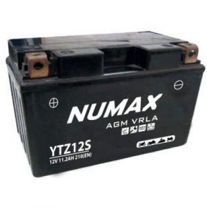 Numax Batterie moto Premium AGM YTZ12S 12V 11.2Ah 210A