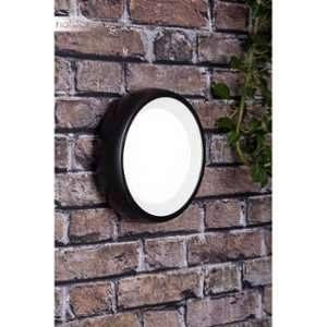 Brilliant AG Applique extérieur Perth noir-verre blanc 1x8W - BRILLIANT - G96294-06