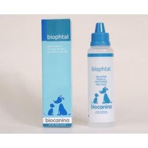 Biocanina Biophtal - Solution pour le nettoyage des yeux