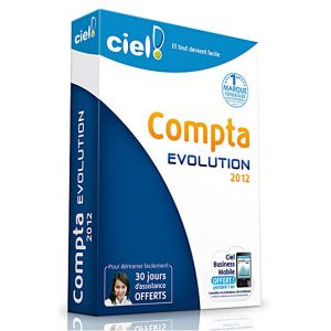 Compta Evolution 2012 pour Windows