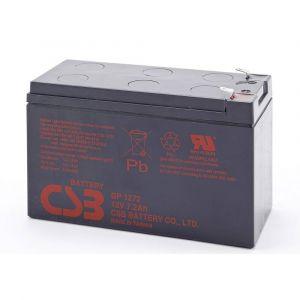 CSB battery Batterie au plomb 12 V 8 Ah sans entretien, auto-décharge réduite X843171
