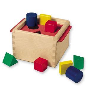 Selecta Boîte à formes en bois