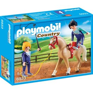 Playmobil 6933 Country - Voltigeuses et Cheval