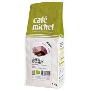 Café en grains bio Expresso Gourmet - 1Kg - Café Michel