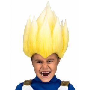 Perruque Super Saiyan Vegeta Dragon Ball enfant TU