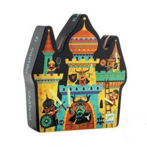 Djeco Le château fort - Puzzle 54 pièces