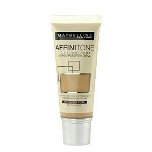 Maybelline 3 x Affinitone Unifying Foundation Cream 30ml - 17 Rose Beige