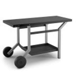 Forgeadour TRA NG - Table roulante en acier pour plancha