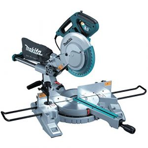 Makita Scie à onglet radiale - 260 mm - 1430W + Chariot-établie LS1018LCHARIOT