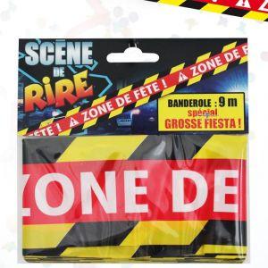 "Fiesta guirca Banderole ""Zone de Fête"""