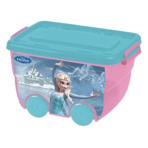 Mercier Toys Caisse de rangement avec roulettes La Reine des Neiges 25 L