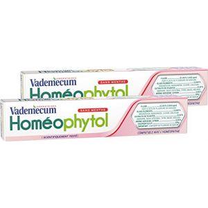 Vademecum Homéophytol - Dentifrice sans menthe (75 ml)