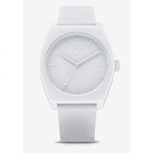 Adidas Montre Z10-126-00 - Montre Silicone Blanc Homme