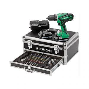 Hitachi KC18DJLF - Perceuse visseuse sans fil 18V 2.5Ah + 2 batteries et chargeur en coffret