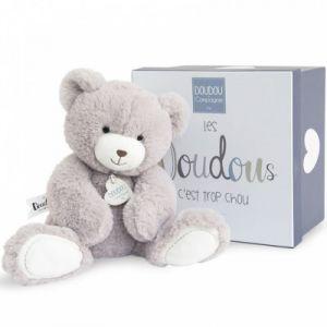 Doudou et Compagnie Peluche ours taupe (22 cm)
