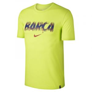 Nike Tee-shirt FC Barcelona Dri-FIT pour Homme - Vert - Taille M - Male