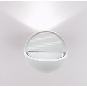 Silamp Applique Murale LED B22 7W IP44 BLANC