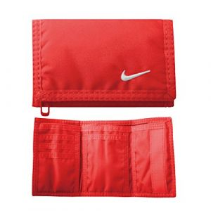 Nike Portefeuilles -accessories Basic Wallet - Bright Crimson / White - Taille One Size