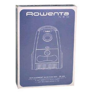 Rowenta ZR 480 - 6 sacs en papier + 1 micro filtre anti bactérien pour aspirateurs Neo