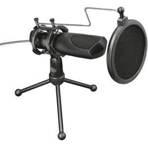 Trust Microphone GXT 232 Mantis Streaming avec trépied