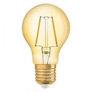 Osram Vintage 1906 LED E27 A60 2.5W 825 Dorée   Substitut 22W