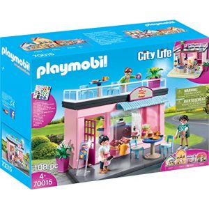 Playmobil Salon de thé City Life 70015