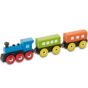 EverEarth Train à vapeur Rétro en bois