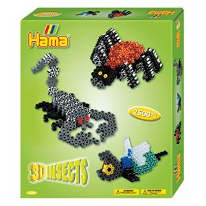 """Hama Boîte de perles moyennes """"3D Insects"""""""