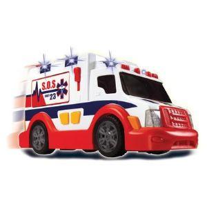 Dickie Toys Ambulance avec effets lumineux et sonores 37 cm