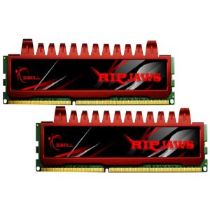 G.Skill F3-10666CL9D-8GBRL - Barrettes mémoire Ripjaws 2 x 4 Go DDR3 1333 MHz CL9 Dimm 240 broches