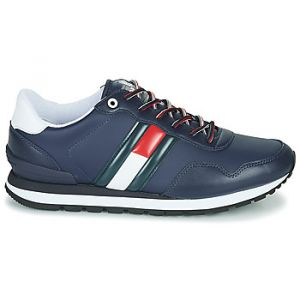 Tommy Hilfiger Baskets basses Tommy Jeans LEATHER LIFESTYLE SNEAKER Bleu - Taille 42